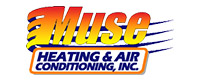 Website for Muse Heating & Air Conditioning, Inc