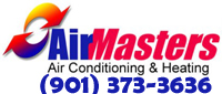 Website for AirMasters Air Conditioning & Heating