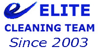 Website for Elite Cleaning Team