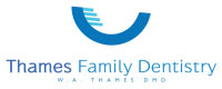 Website for Thames Family Dentistry