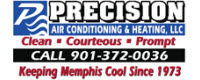 Website for Precision Air Conditioning & Heating, LLC