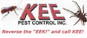 Website for Kee Pest Control, Inc.