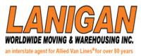 Website for Lanigan Worldwide Moving & Warehousing, Inc.
