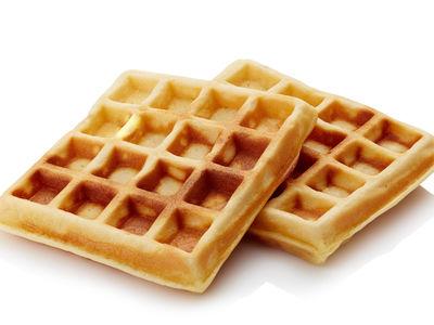 Toasted waffles