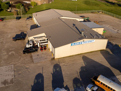 Truck repair garage operations