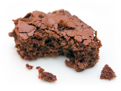 Brownie and large crumbs