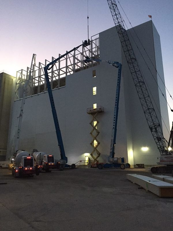 Construction of a Dedicated Hard and Spring Wheat Flour Mill in Fostoria