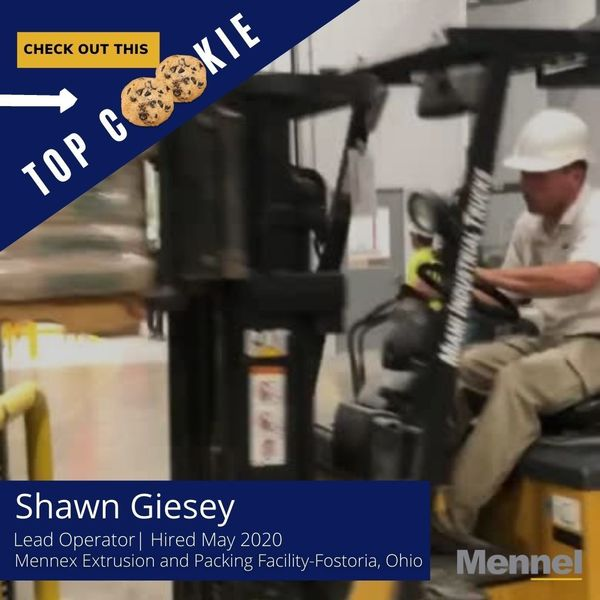 Mennex Top Cookie Shawn Giesey 9 21