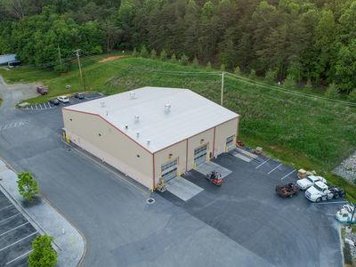 Truck repair garage and main office in Roanoke, Virginia