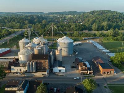 Logan Flour Mill in Logan, Ohio