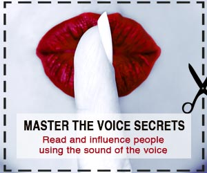 "Get Ehud Segev's #1 Bestseller ""Secrets of the Voice"" for as low as $3.99 instead of $17.99"