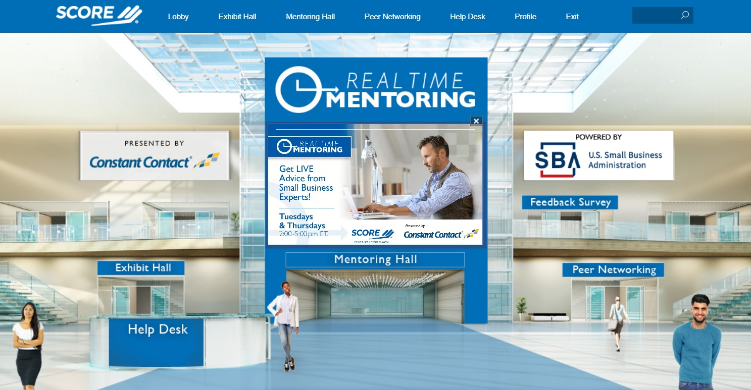 Real-Time Mentoring Platform Lobby