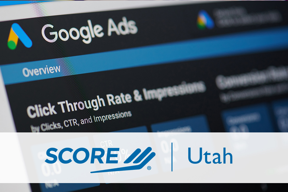 Screen that has a snapshot of a Google Ads Overview page