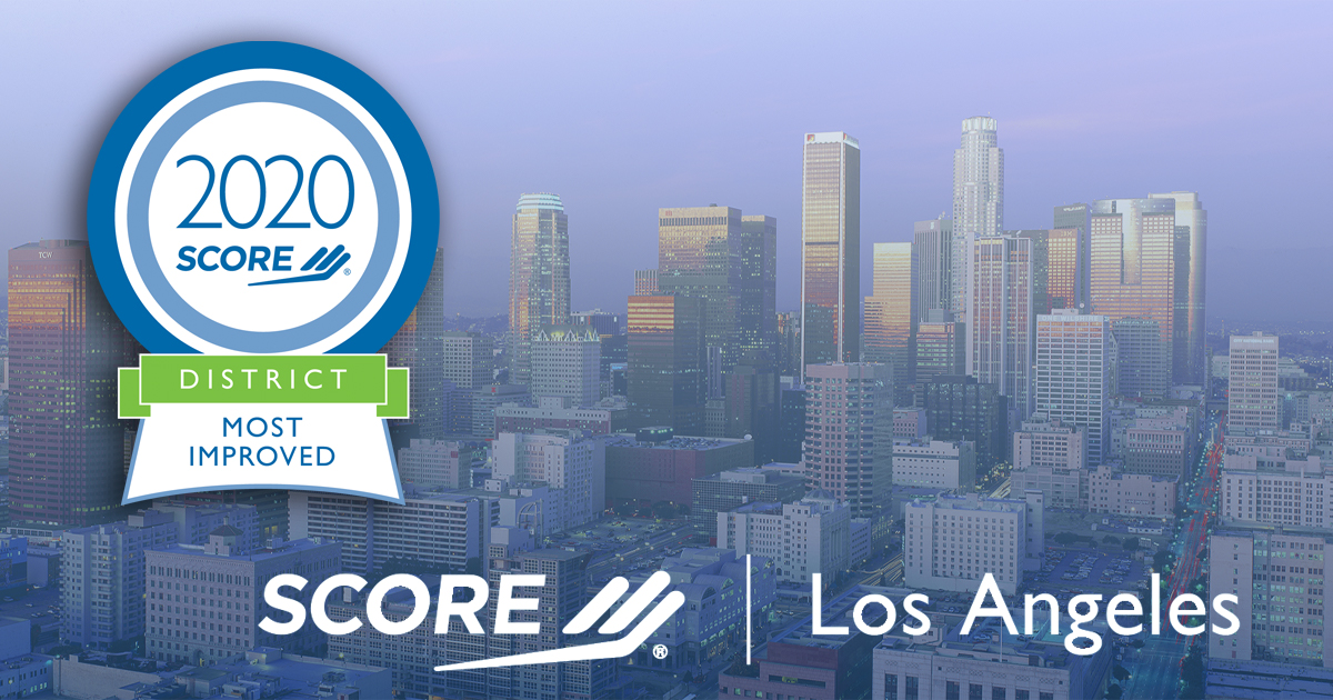 Los Angeles Most Improved DIstrict Award