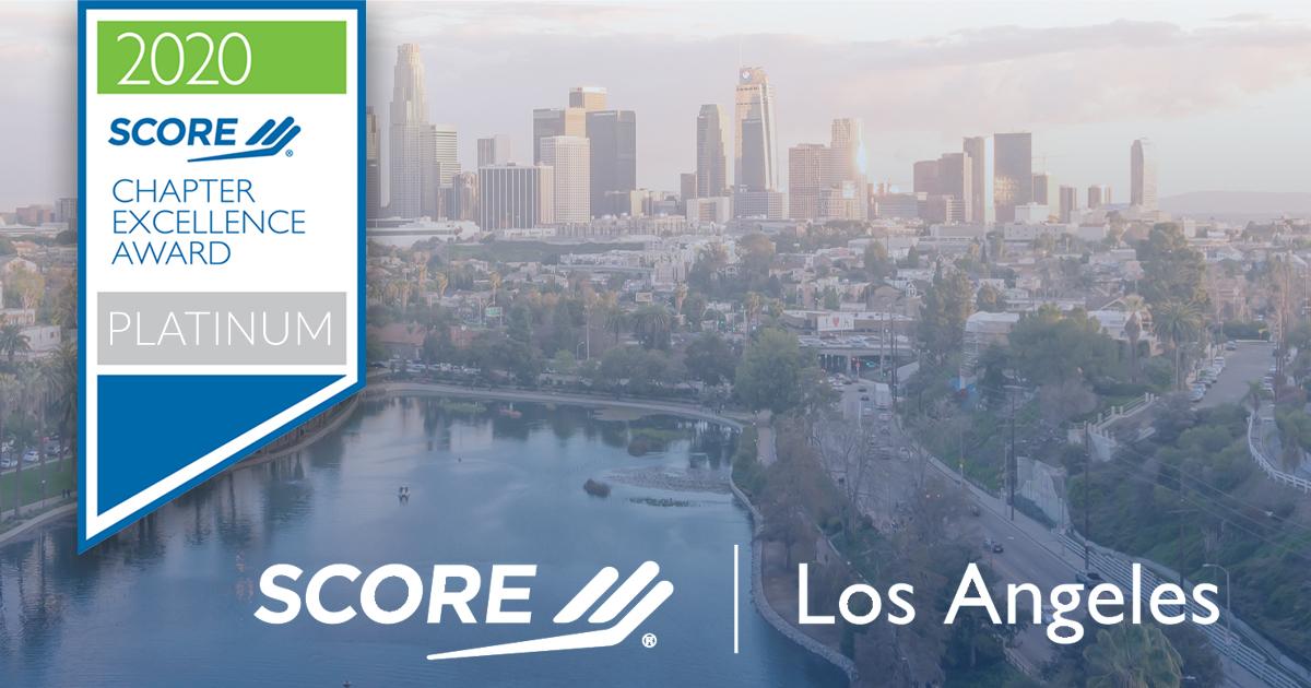 Los Angeles Platinum Award
