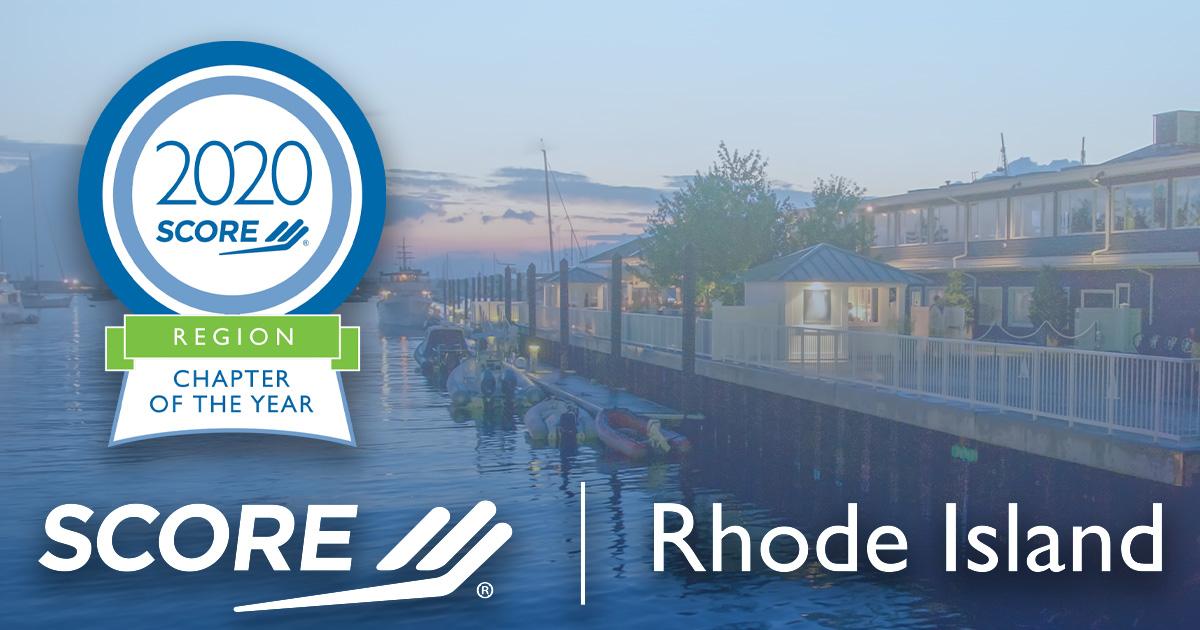 Rhode Island Northeast Region Chapter of the Year Award 2020