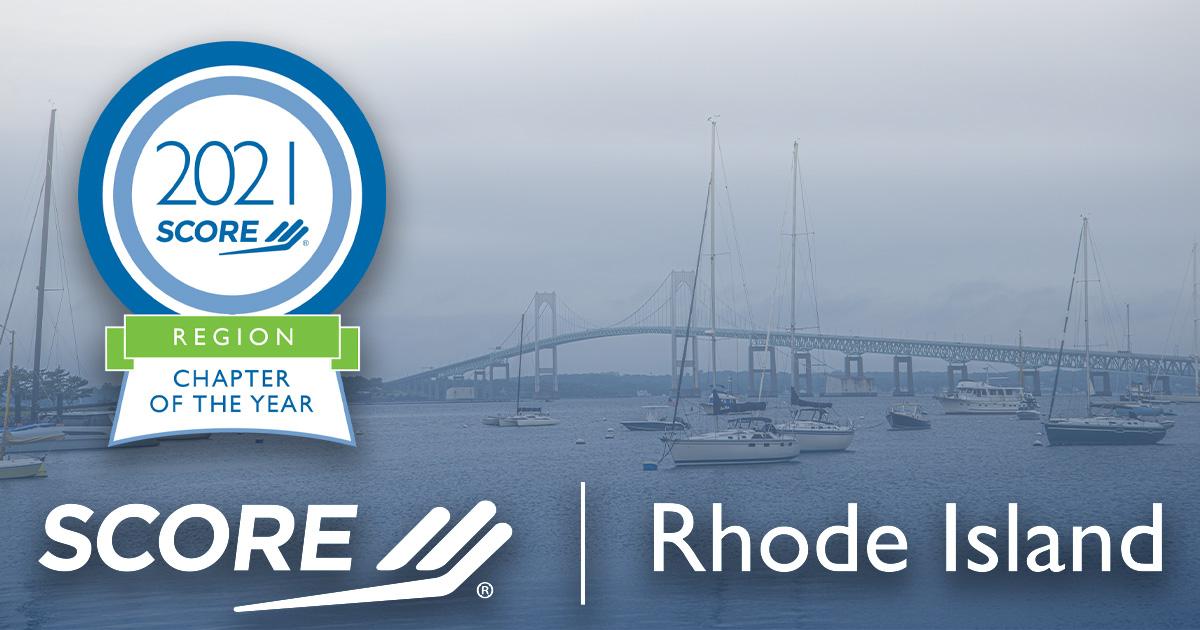 Rhode Island Northeast Region Chapter of the Year Award 2021