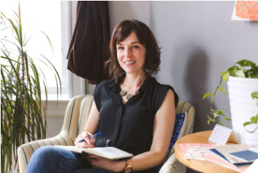 Meet Erin M. Chlaghmo, Owner of Relativity Textiles and Featured Business Owner