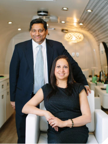 Meet Sachin and Maulee, Owners of JOOJ Blow Dry and Featured Business Owner