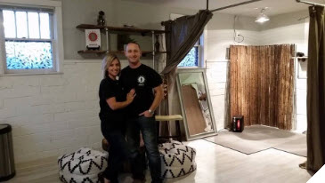 Meet Brandon and Rebecca Tole – Owners of Bronzed and Featured Business Owners