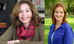 Theresa Sullivan and Susan Weisenborne – Owners of Wayfinder Advisors