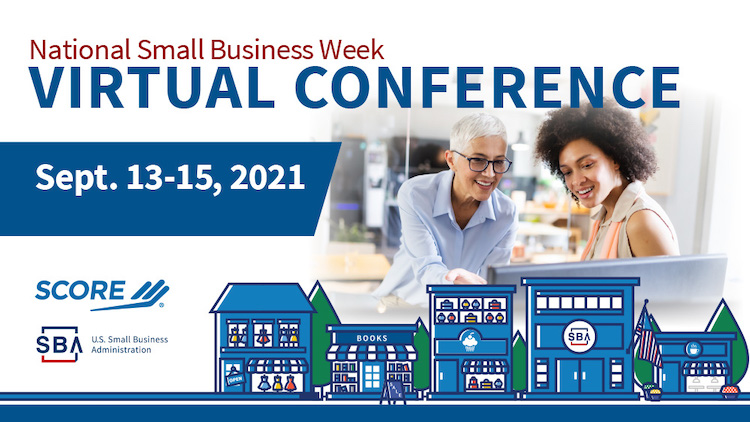 national small business week promotional graphic