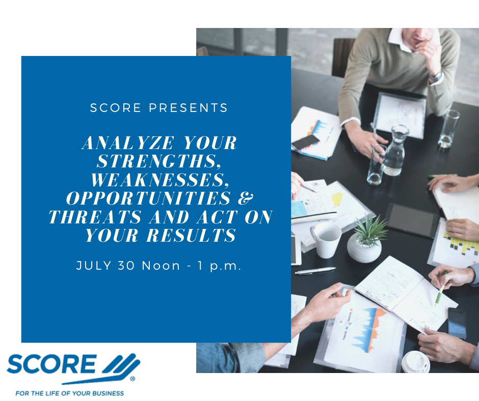 Analyze Your Strengths, Weaknesses, Opportunities and Threats and Act on Your Results