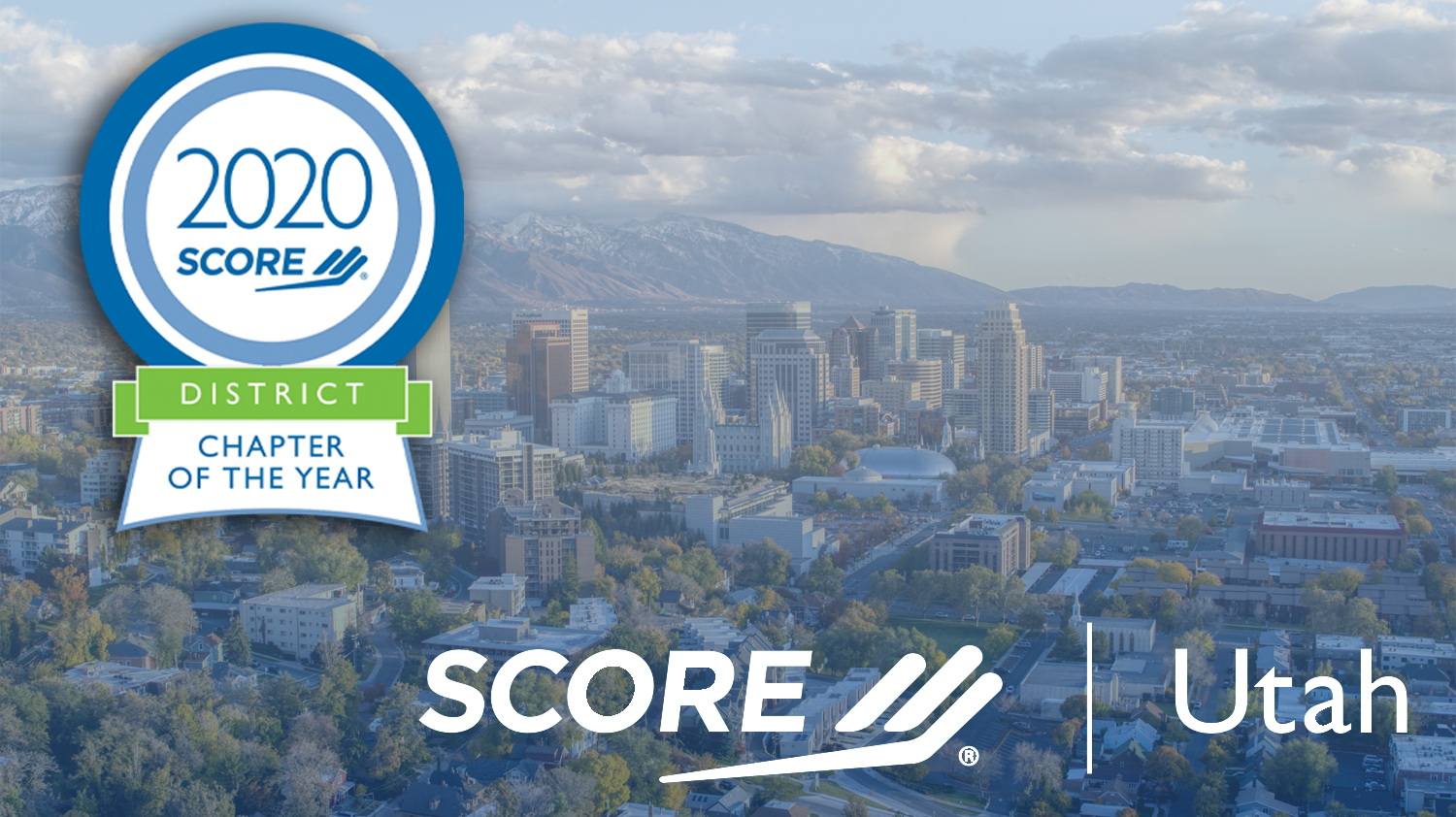 SCORE Utah District Chapter of the Year 2020