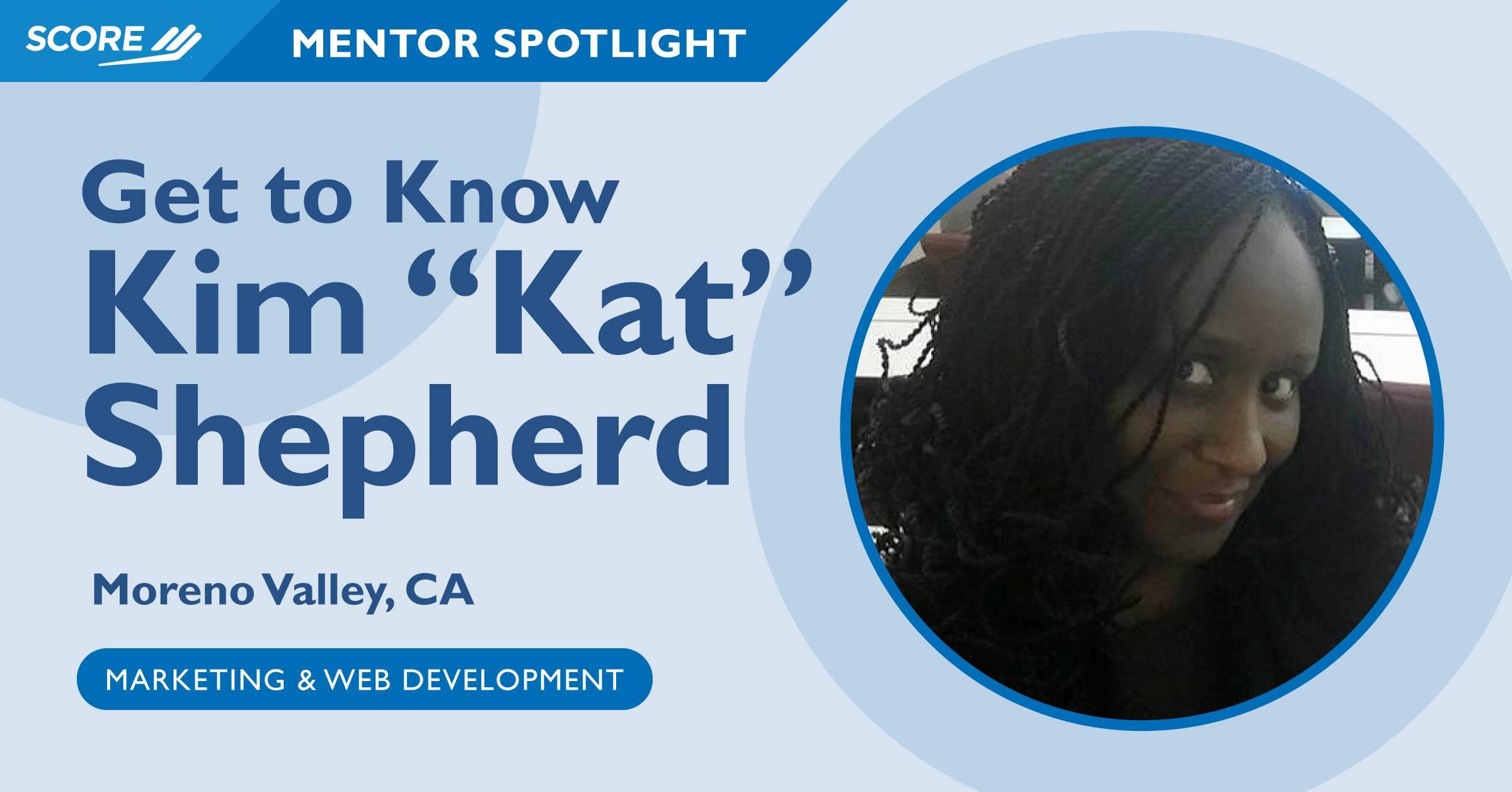 Mentor Spotlight - Kim Shepherd