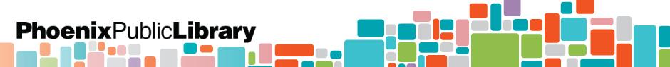 Phoenix Public Library Webinars