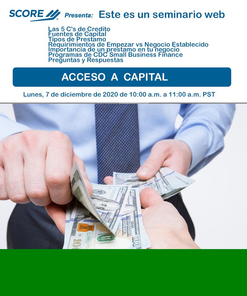 acceso a capita