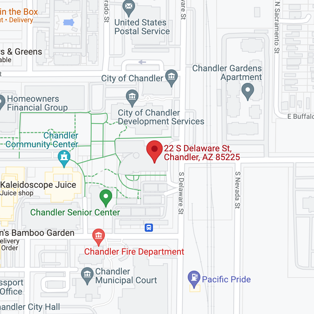 Chandler Public Library (Monday evenings)