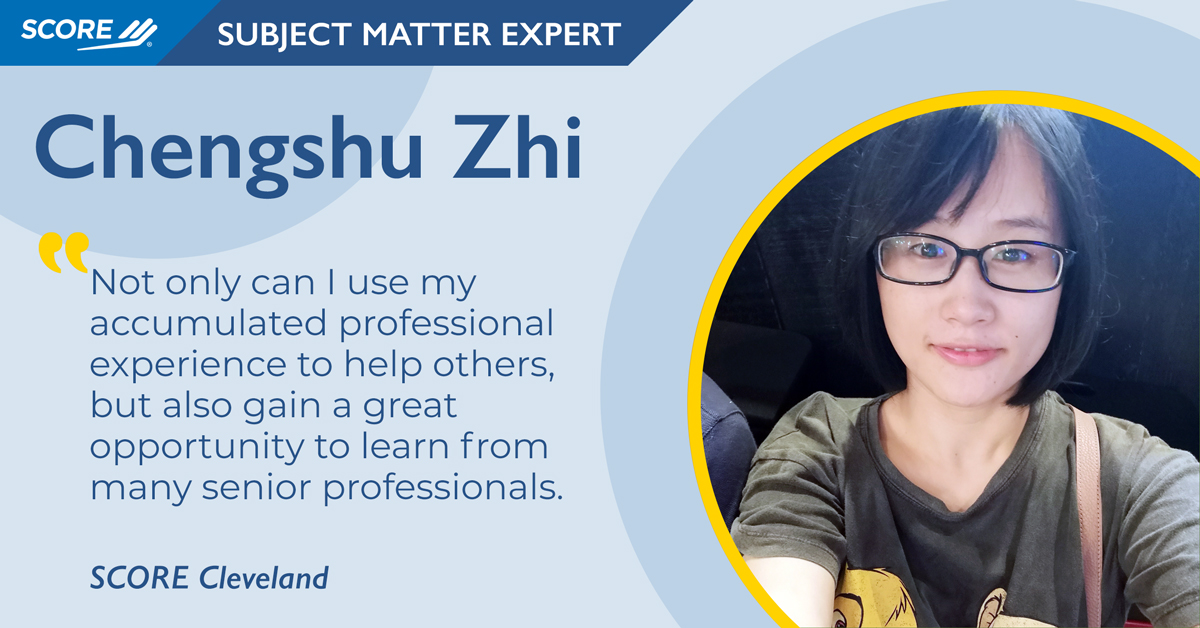 Volunteer Spotlight - Chengshu Zhi