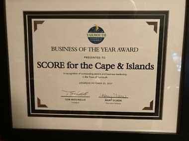 Photo of Yarmouth Business of Year Award