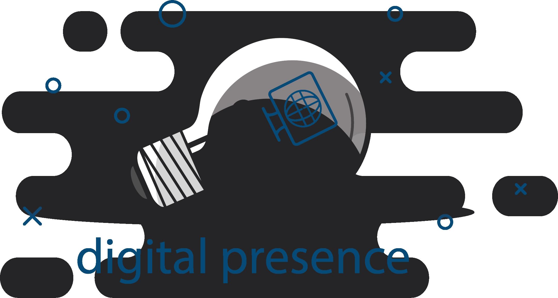 Digital Presence lightbulb