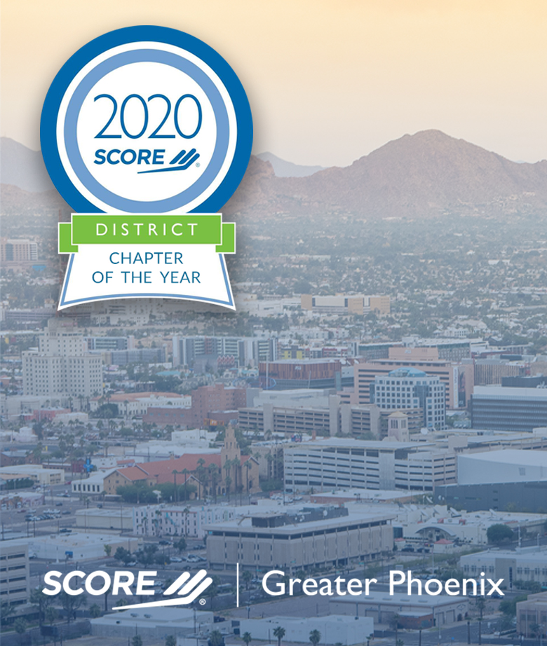 SCORE Greater Phoenix 2020 District Chapter of the Year