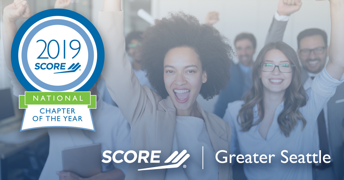 SCORE Greater Seattle 2019 National Chapter of the Year