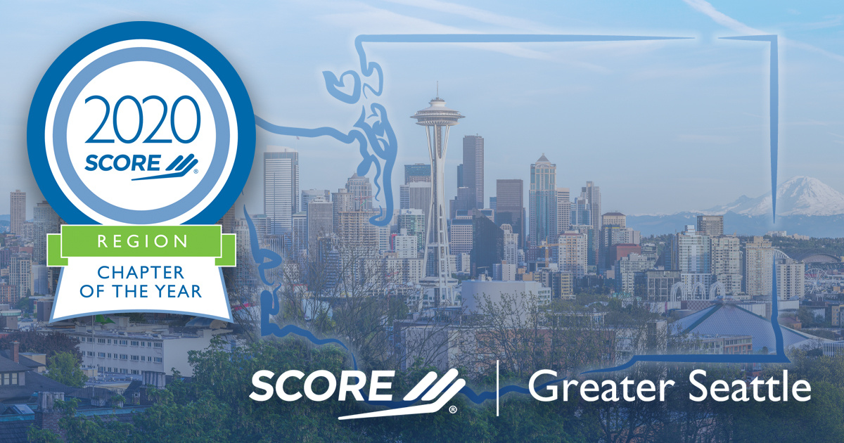 SCORE Greater Seattle 2020 Northwest Regional Chapter of the Year