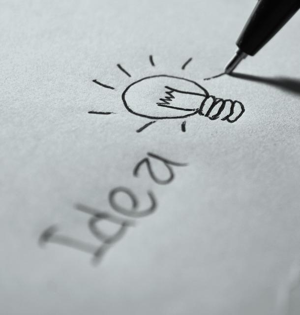 idea lightbulb, invention
