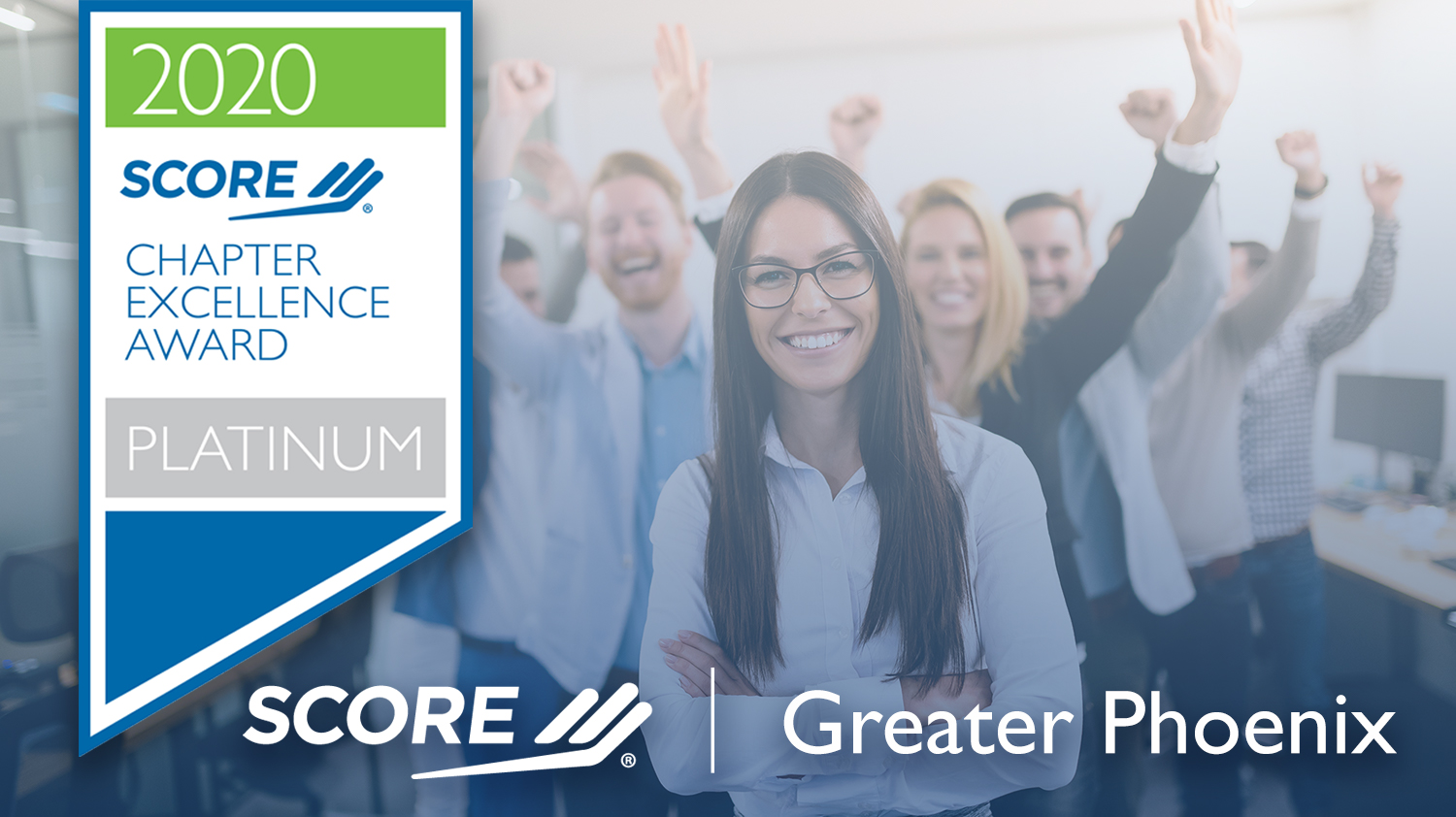 SCORE Greater Phoenix Platinum Chapter Excellence Award 2020