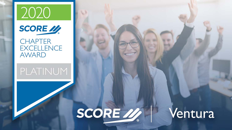 2020 Diamond Chapter Award for Ventura SCORE