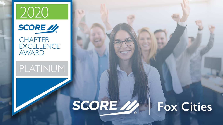 SCORE Fox Cities Platinum Chapter Excellence Award