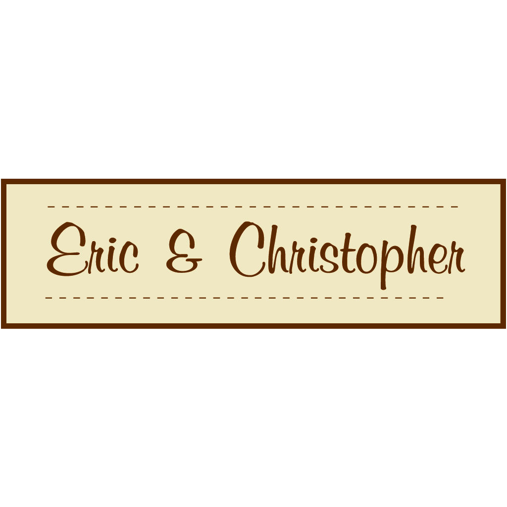 Eric & Christopher
