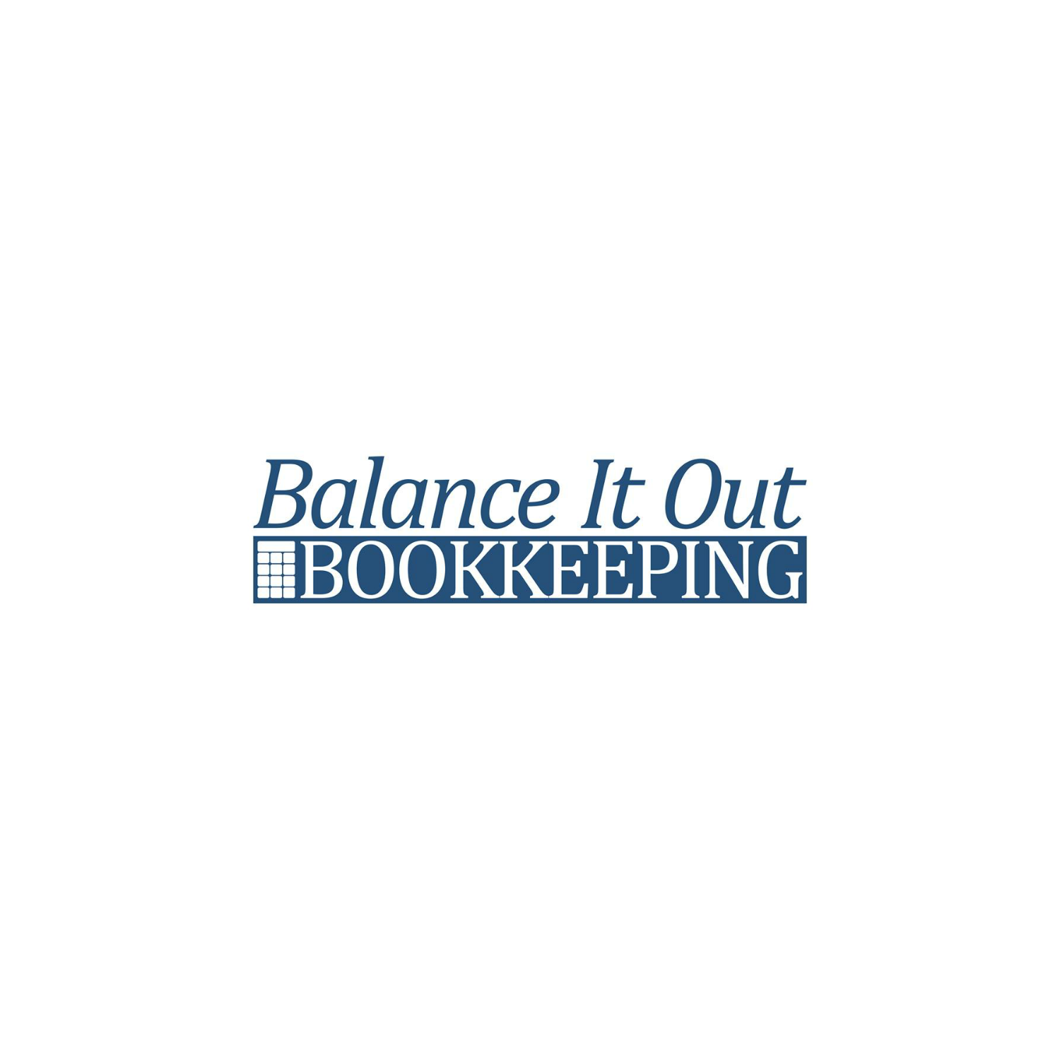Balance It Out Bookkeeping logo