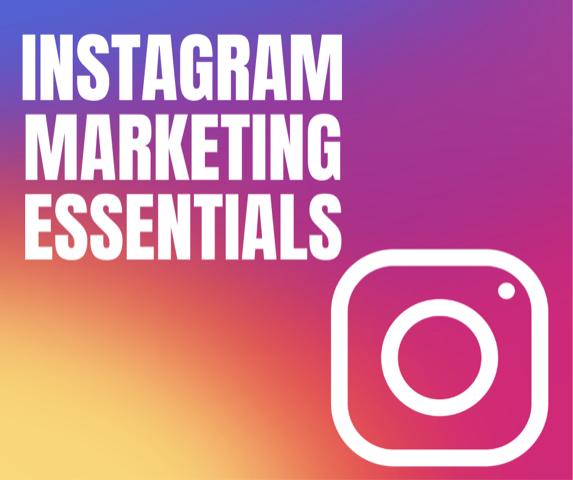 Digital Marketing Recorded Webinar: Instagram Marketing Essentials