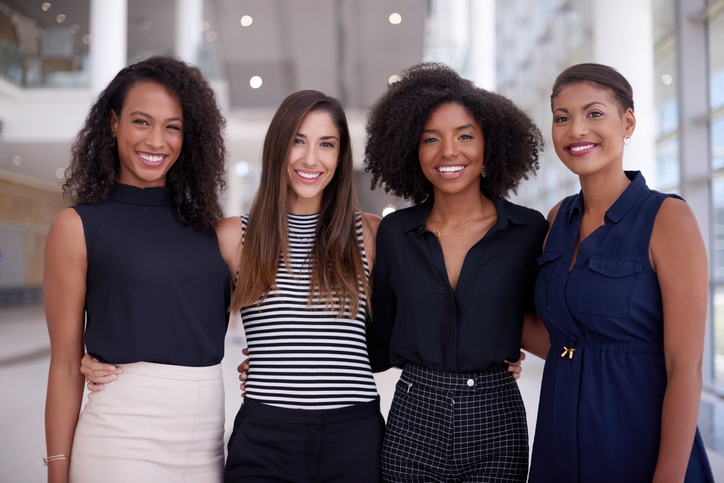 4 Women Entrepreneurs Smiling
