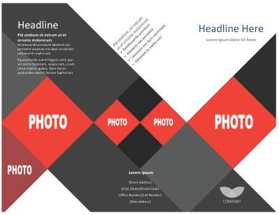 template tri fold brochure