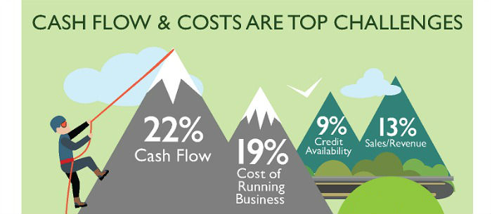 Infographic: Cash flow, capital and credit