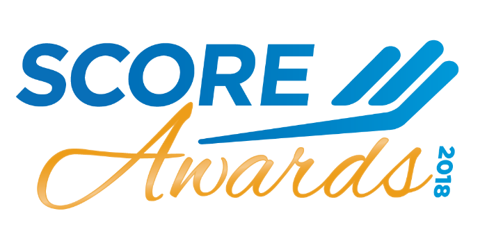 2018 SCORE Awards logo