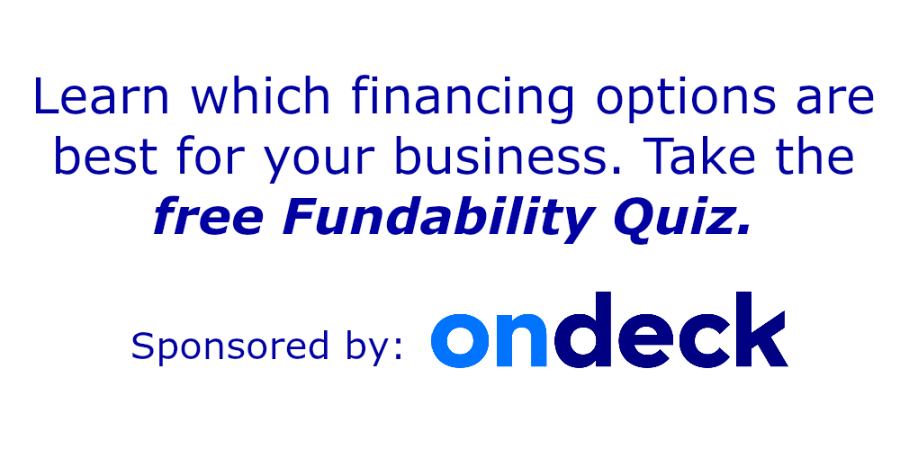 Business Fundability Quiz